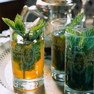 Moroccan mint tea - recipe