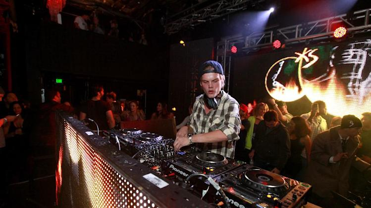 IMAGE DISTRIBUTED FOR PARK CITY LIVE - Avicii performs at Park City Live Day 3 on Saturday, January 19, 2013, in Park City, Utah. (Photo by Barry Brecheisen/Invision for Park City Live/AP Images)