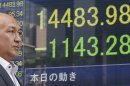 Asia stock markets edge up after big sell-off