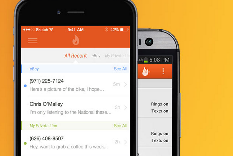 Burner phone? There's an app for that, and it's earning millions of dollars
