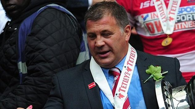 Shaun Wane led Wigan to Challenge Cup glory last weekend