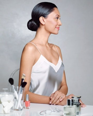 Look No. 2: The Sleek Bun