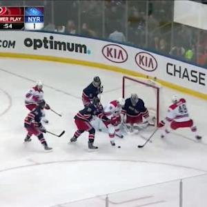 Henrik Lundqvist Save on Justin Faulk (10:19/1st)