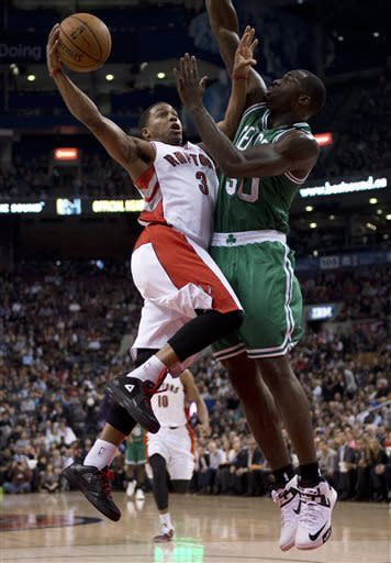 Raptors rout Celtics 114-90 in season finale