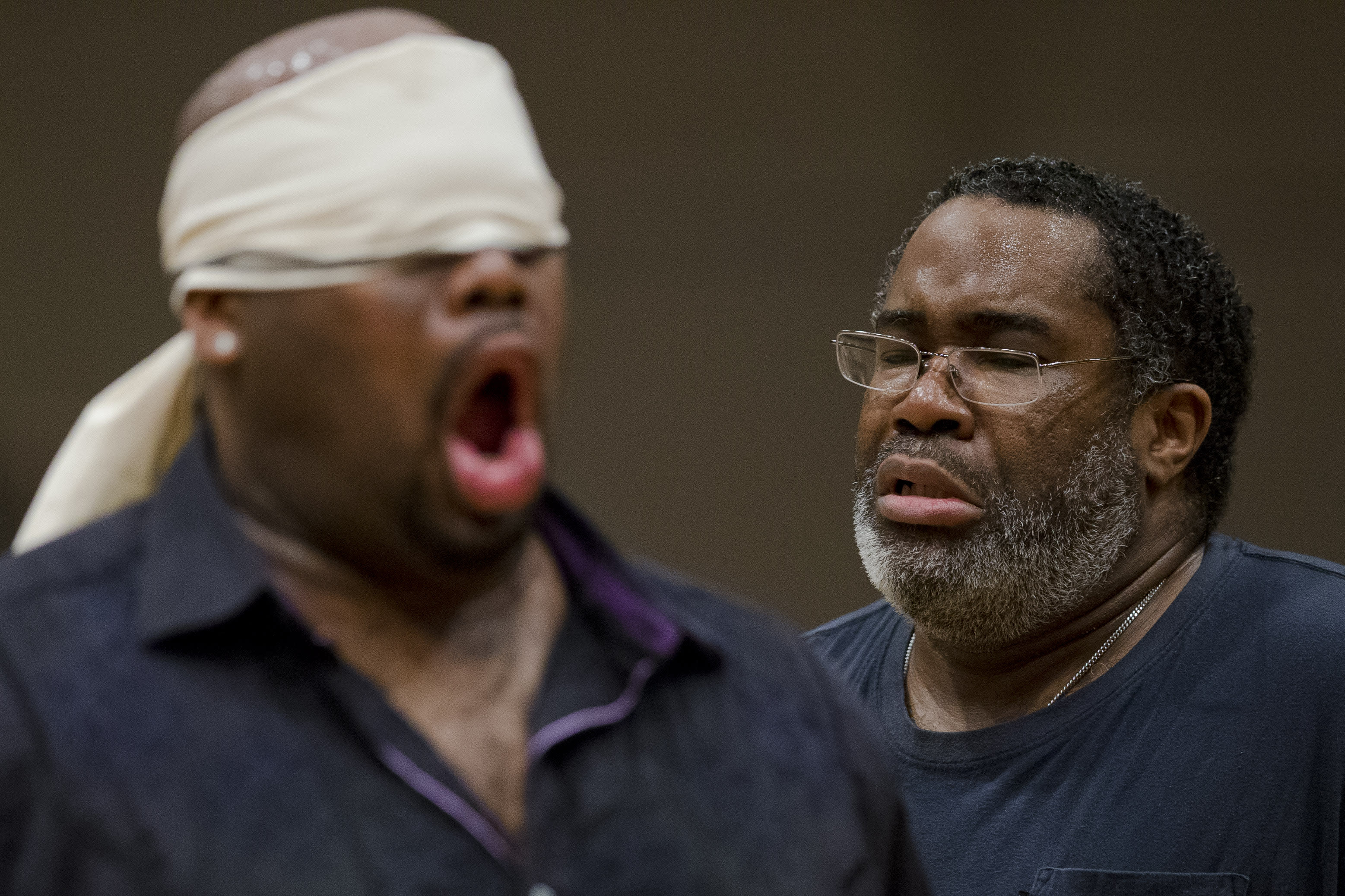 Basses discuss being black opera singers