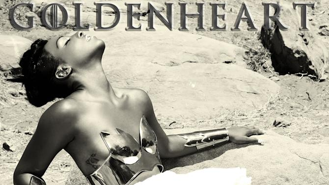 """This CD cover image released by 101 Distribution shows """"Goldenheart,"""" by Dawn Richard. (AP Photo/101 Distribution)"""