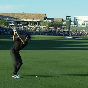 Rickie Fowler's fantastic approach sets up birdie at Waste Management