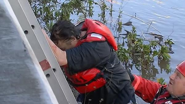 Man rescued from Napa River