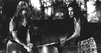 Nicole Kidman and Sandra Bullock in Warner Brothers' Practical Magic