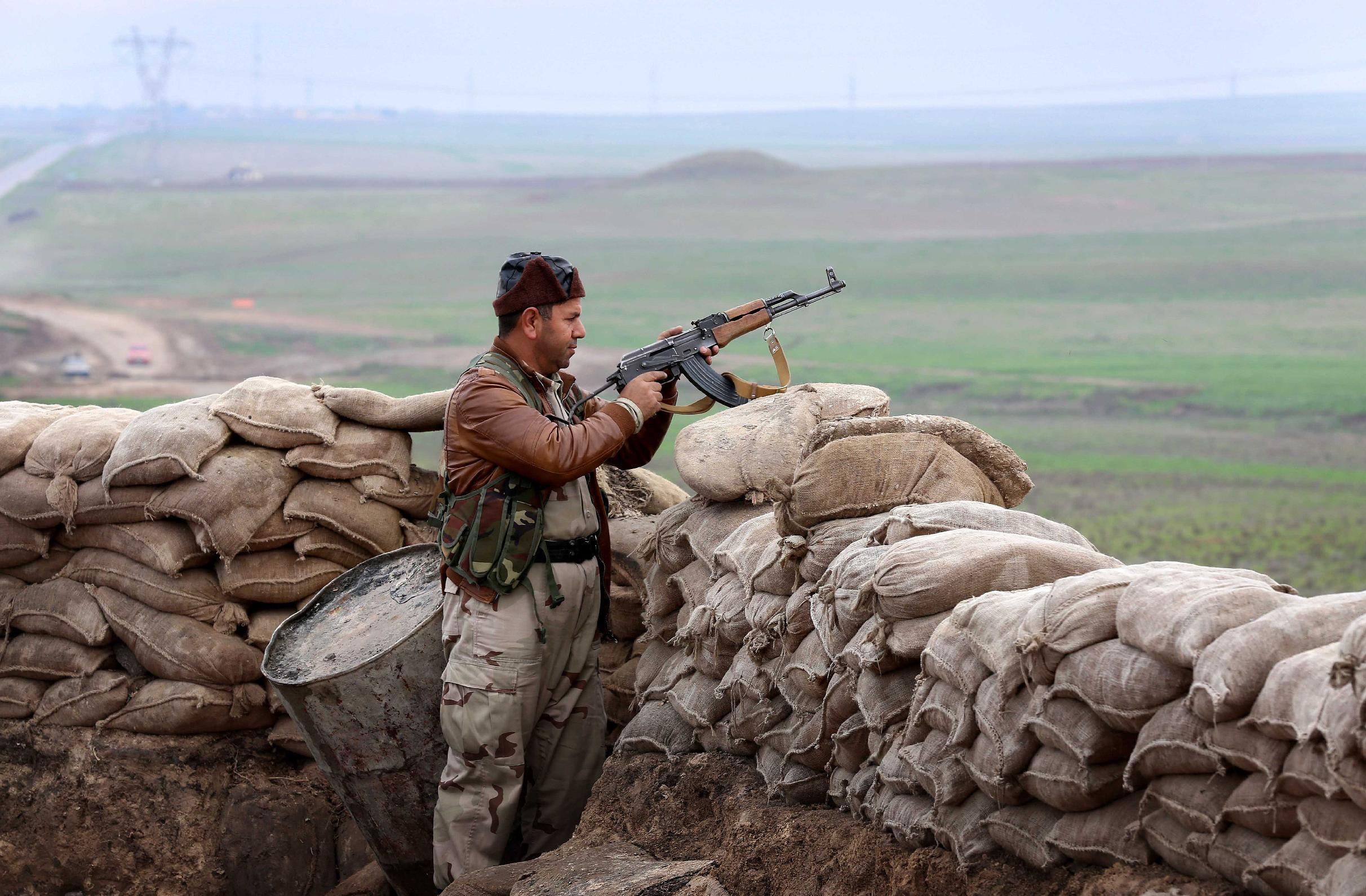 Iraq Kurds press fightback as top jihadist reported killed