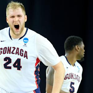 Karnowski Dominates As Gonzaga Pounds UCLA