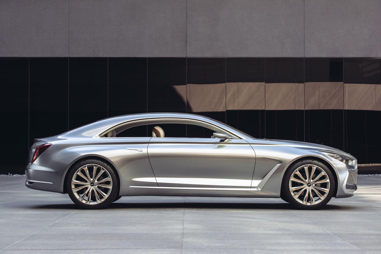 Hyundai's Genesis brand will challenge German's elite with a BMW 3 Series rival