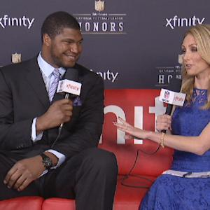 'NFL Honors' Xfinity Couch: Arizona Cardinals defensive end Calais Campbell