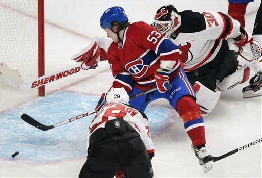 Markov scores in OT to give Canadiens win