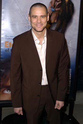 Jim Carrey at the LA premiere of Focus' Eternal Sunshine of the Spotless Mind