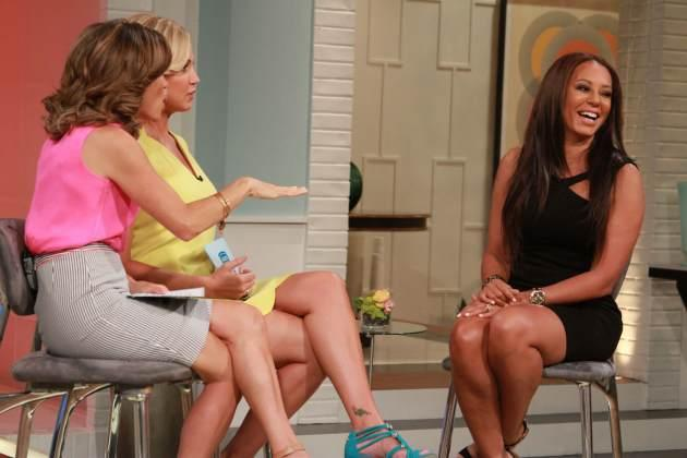 Mel B stops by Access Hollywood Live on July 9, 2013 -- Access Hollywood