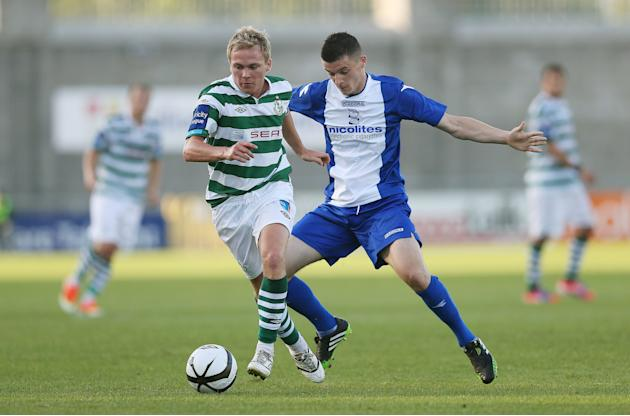 Soccer - Pre-Season Friendly - Shamrock Rovers v Birmingham City - Tallaght Stadium