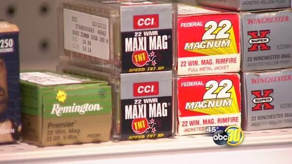 Ammo shortage affecting businesses