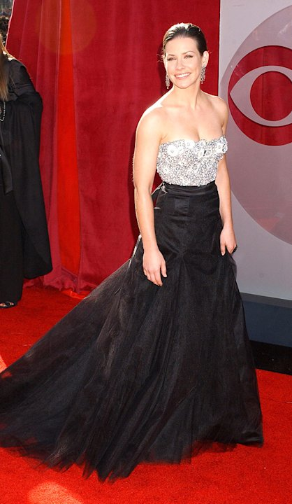 Evangeline Lilly at The 57th Annual Primetime Emmy Awards.