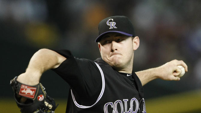 Maztek, Rockies beat D-Backs' hard-luck Nuno 2-0