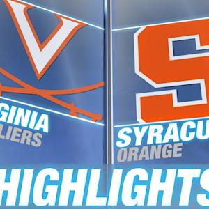 Virginia vs Syracuse | 2014-15 ACC Men's Basketball Highlights