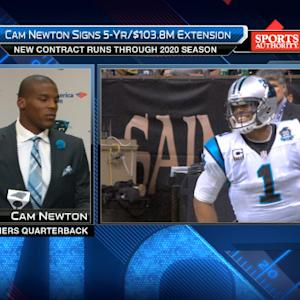 Carolina Panthers quarterback Cam Newton: Most important is wins and losses