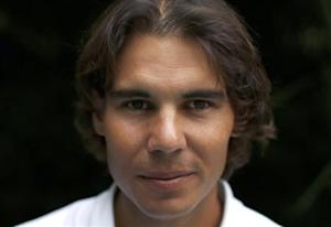 Spanish tennis player Rafa Nadal poses after an interview with Reuters in Madrid