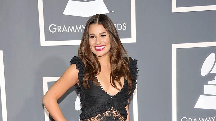 Lea Michelle Grammy Awards