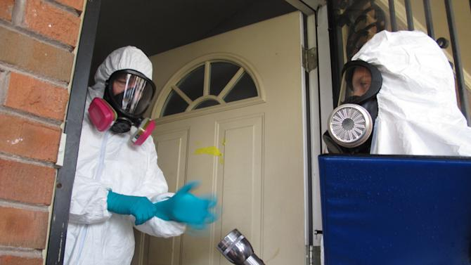Cleaning up homes with meth labs growing industry