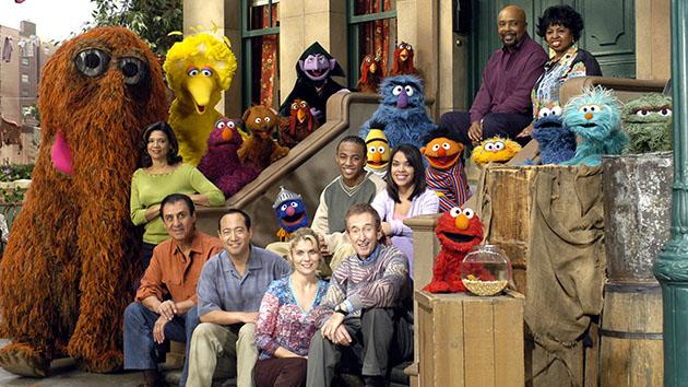 "The cast of ""Sesame Street."""