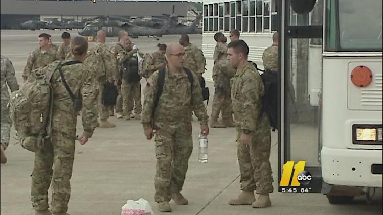 Ft. Bragg troops deploy after multiple delays