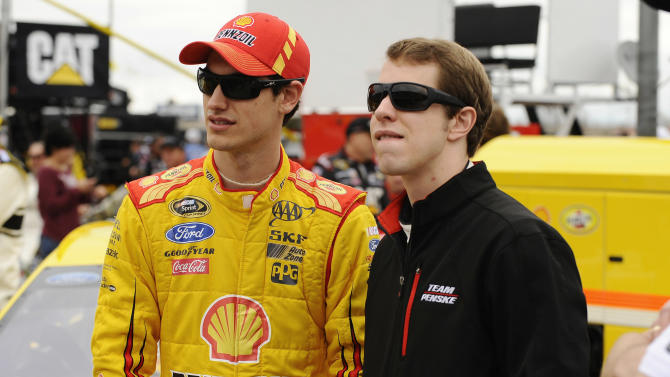 "Logano says ""Sliced Bread Syndrome"" over"