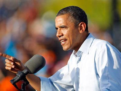 In Florida, Obama hits Romney on 'change' label