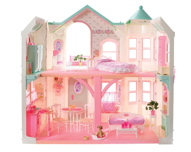 Barbie Dreamhouse through the decades 1998