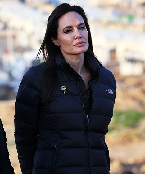 Angelina Jolie Visits Iraq, Meets ISIS Victims in Refugee Camp: Pictures