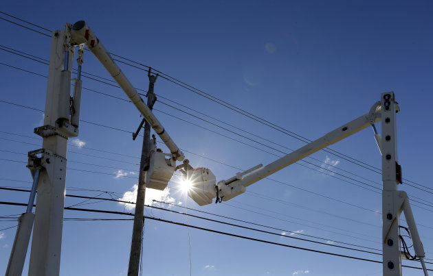 Power Returning After Sandy