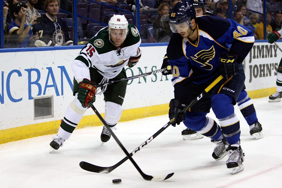 Blues get 4-1 preseason win over Wild