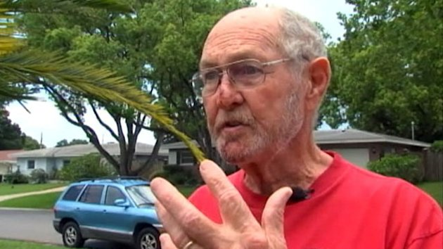 Florida Man's Silver Medallion Stops Falling Bullet at Fireworks (ABC News)