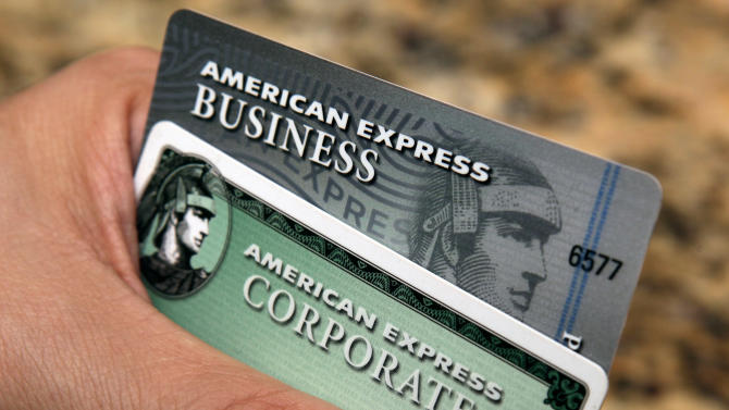 AmEx posts higher 1Q profit as spending picks up