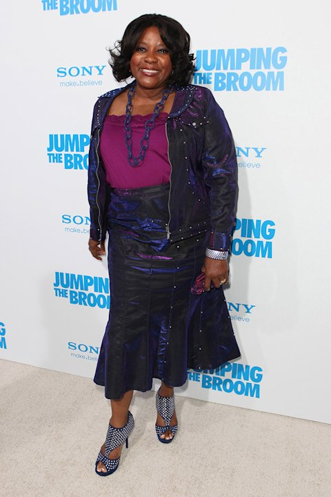 Jumping the Broom LA Premiere 2011 Loretta Devine