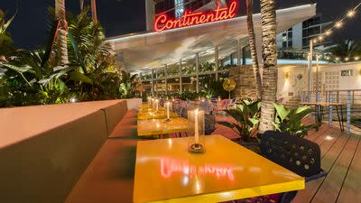 Stephen Starr's The Continental Officially Opens on Miami Beach