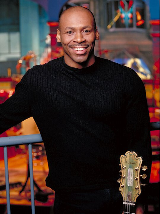 Kevin Eubanks is a band member in The Tonight Show With Jay Leno on NBC.