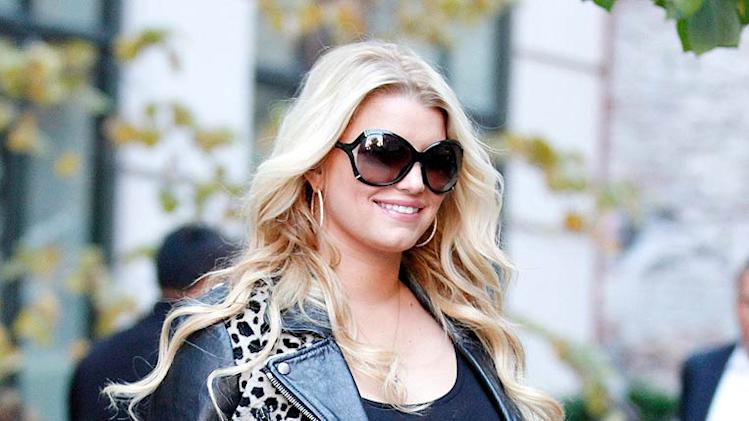 Jessica Simpson New York Shopping Trip