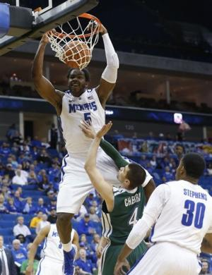 No. 20 Memphis tops Tulane 81-68 at C-USA tourney
