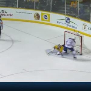 Pekka Rinne Save on Jordan Eberle (00:13/OT)