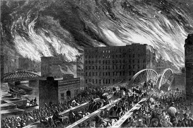 Maps Show How Chicago Was Devastated After the Great Fire of 1871