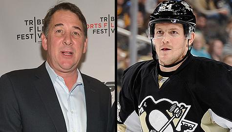 Mike Milbury & Matt Cooke