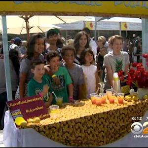 Event To Fight Childhood Cancer Held At UCLA