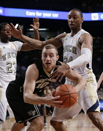 Georgia Tech starts fast, routs Wake Forest, 82-62