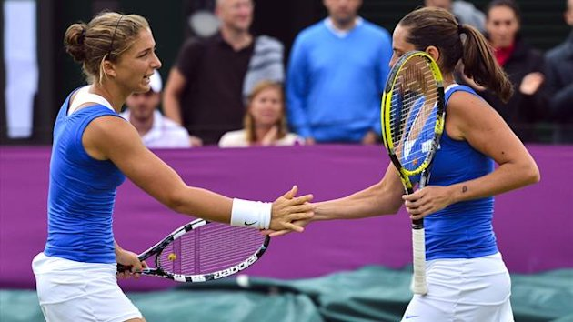 London 2012 Tennis Errani Vinci - AFP